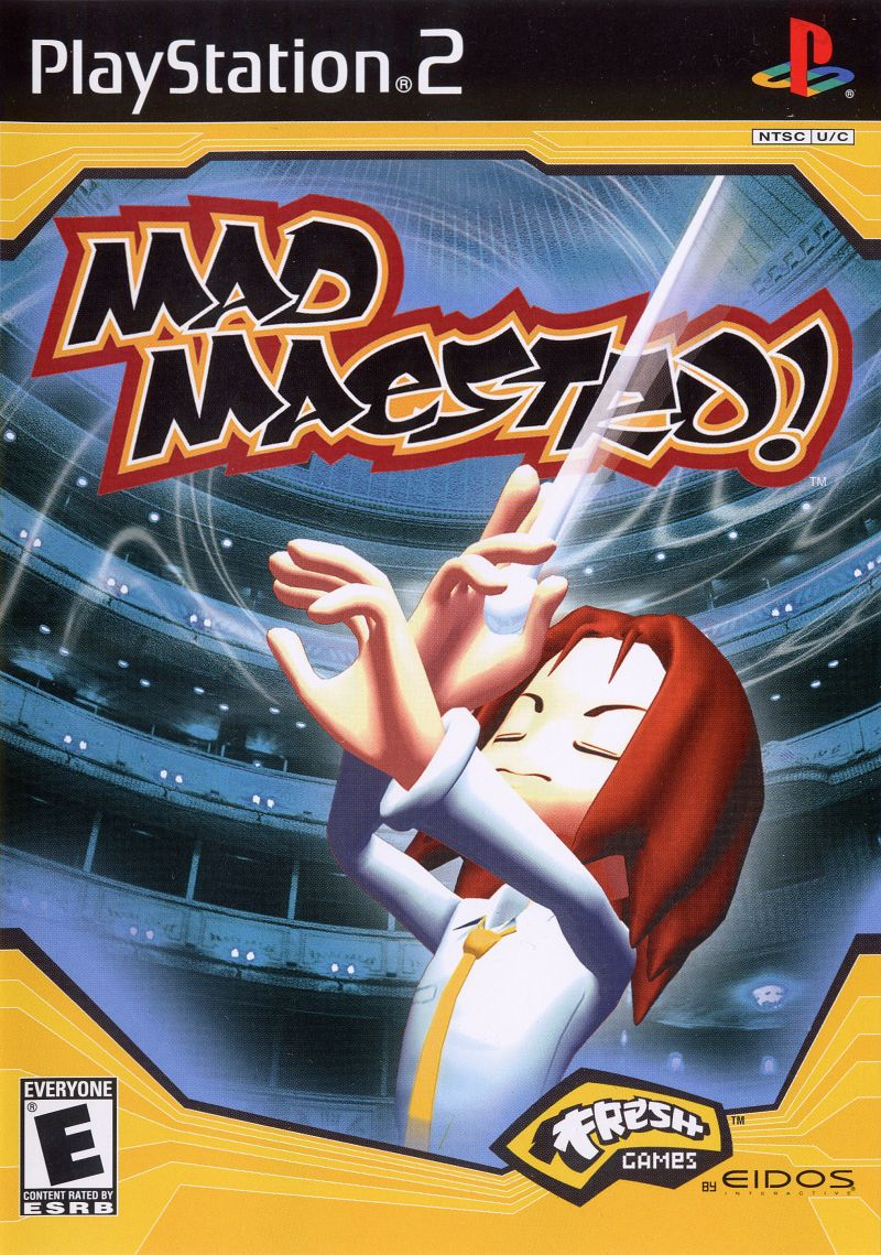 Mad Maestro! PlayStation 2 Front Cover