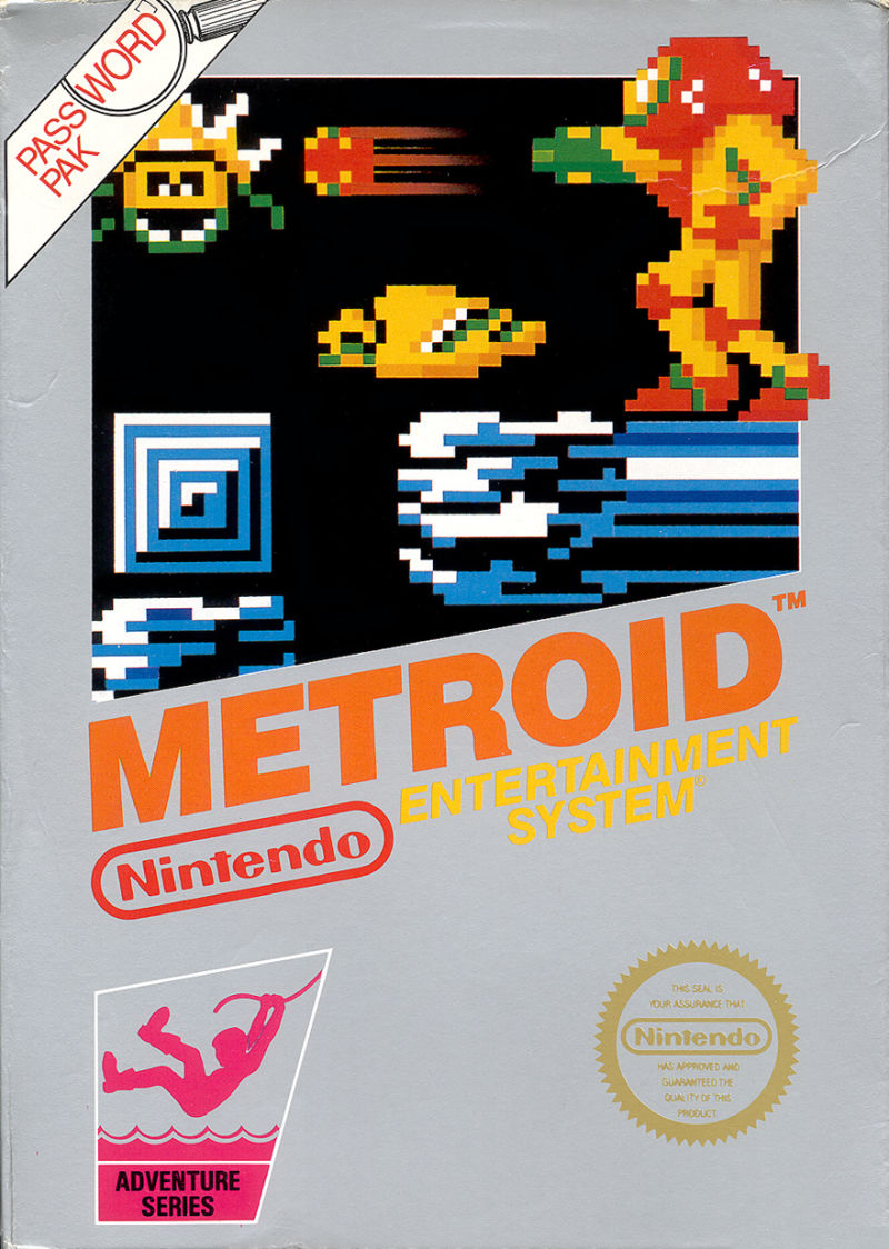 Metroid NES Front Cover