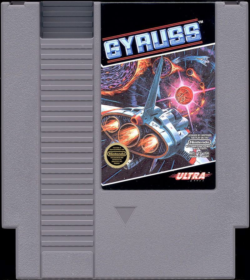 Gyruss NES Media