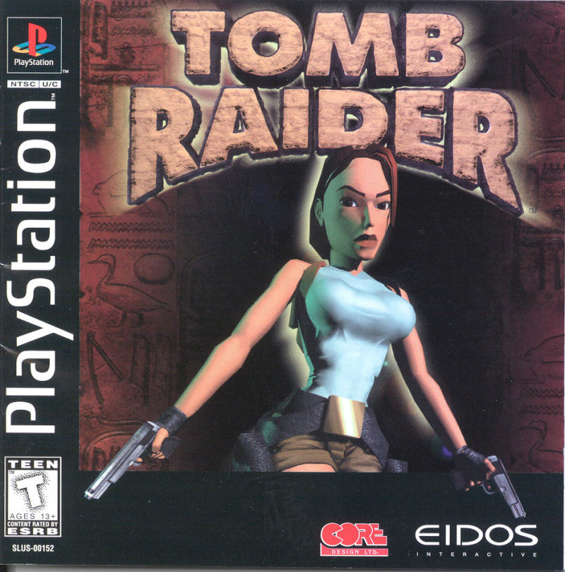 Tomb Raider PlayStation Front Cover