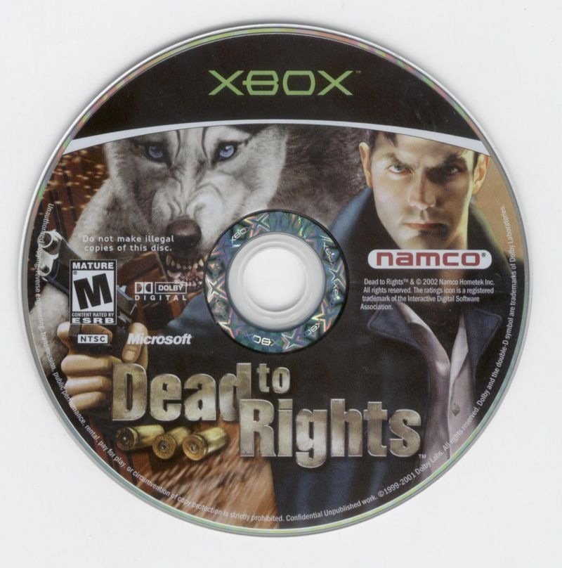 Dead to Rights Xbox Media