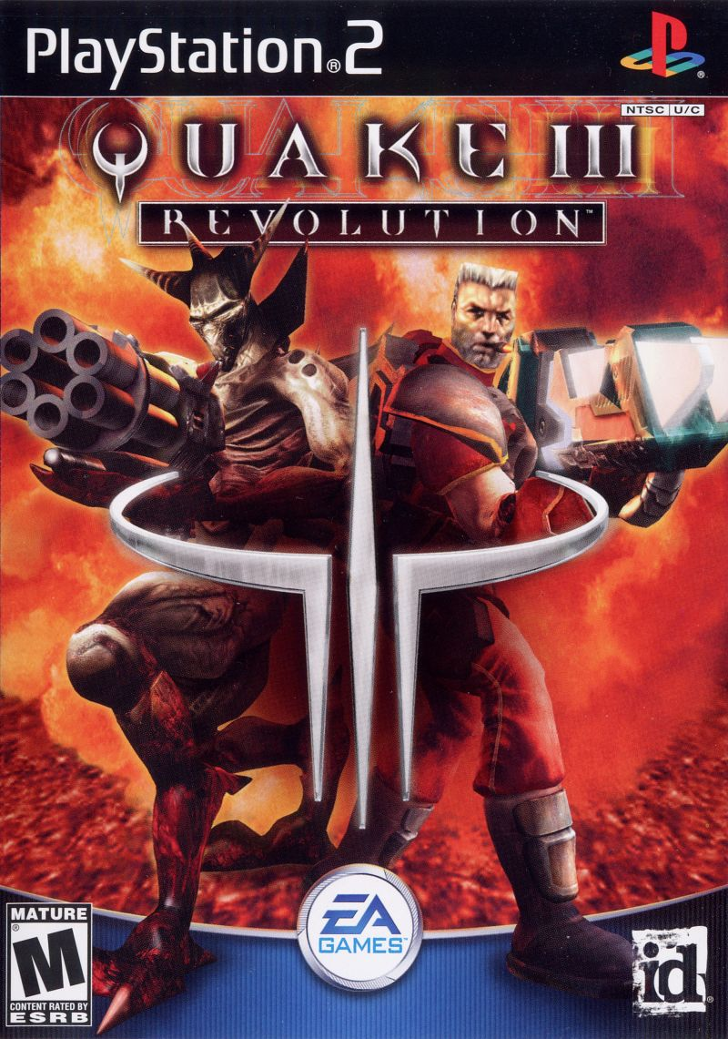 Quake III: Revolution PlayStation 2 Front Cover