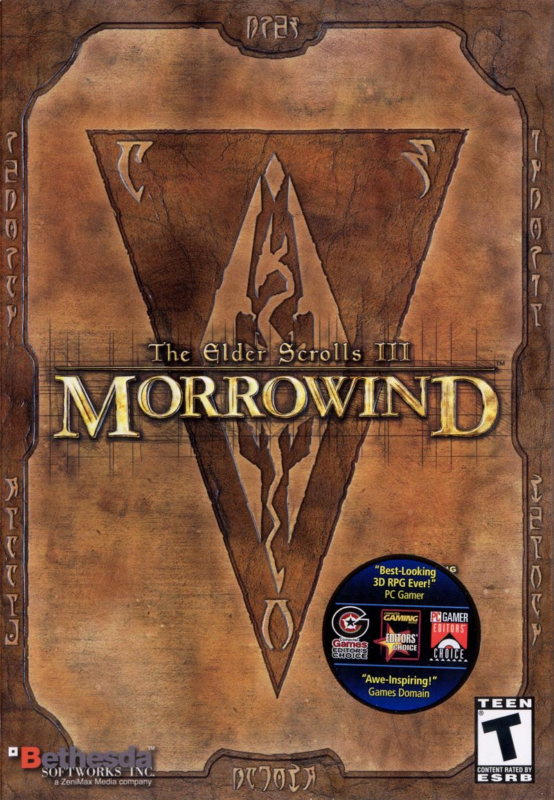 The Elder Scrolls III: Morrowind Windows Front Cover