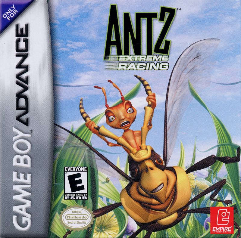 Antz Extreme Racing Game Boy Advance Front Cover