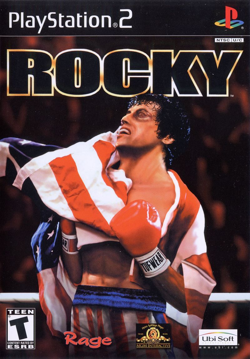 Rocky PlayStation 2 Front Cover