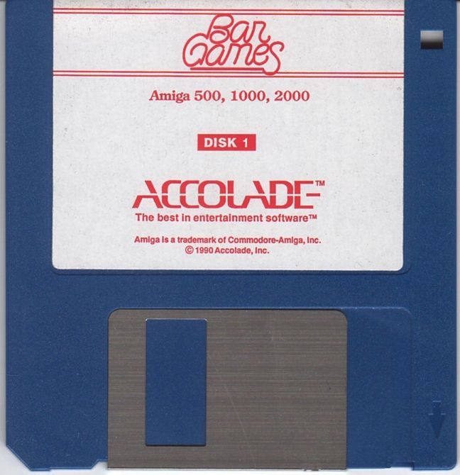 Bar Games Amiga Media 1 of 2