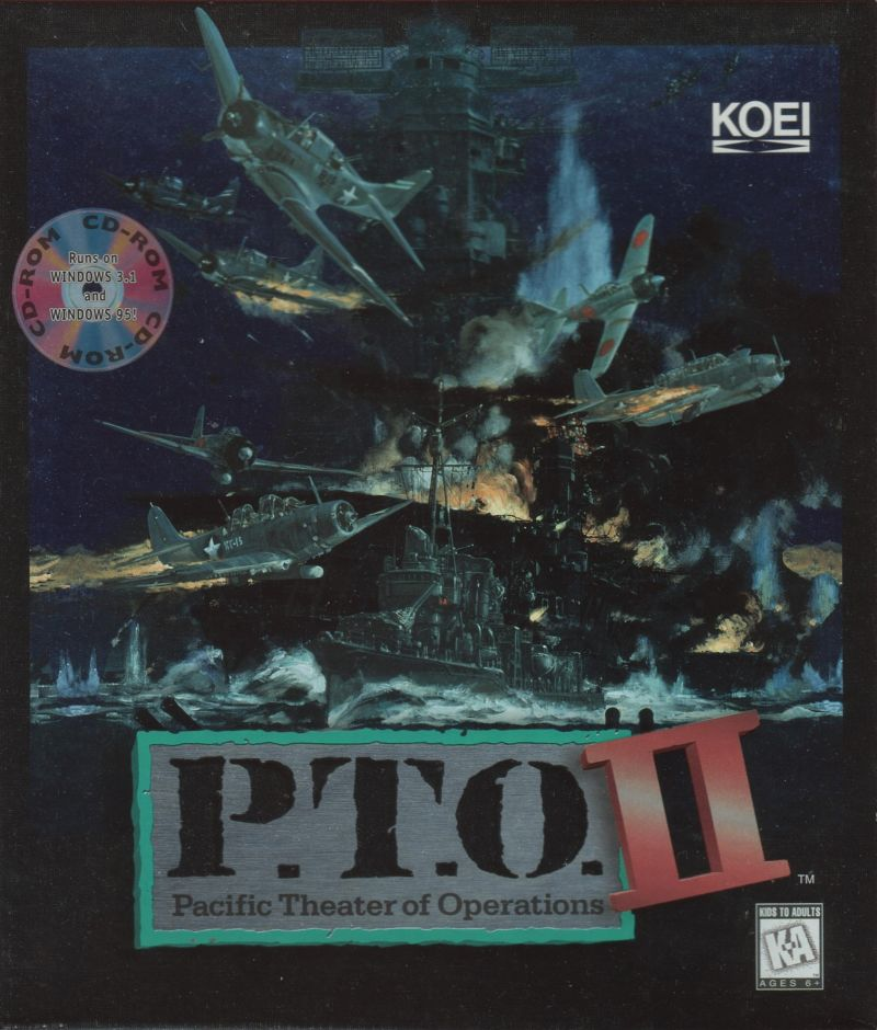 P.T.O.: Pacific Theater of Operations II Windows Front Cover