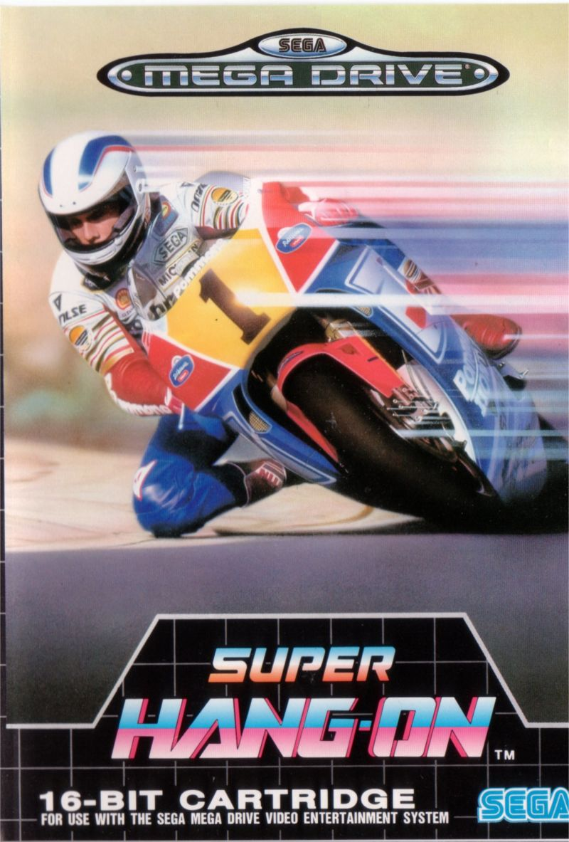 Super Hang-On Genesis Front Cover