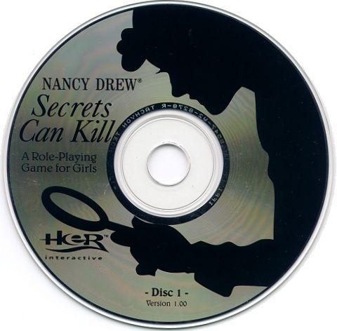 Nancy Drew: Secrets Can Kill Windows Media CD 1/2