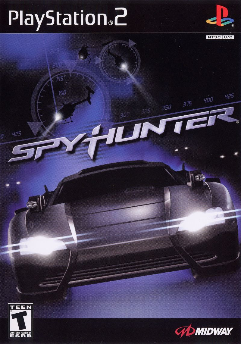 SpyHunter PlayStation 2 Front Cover