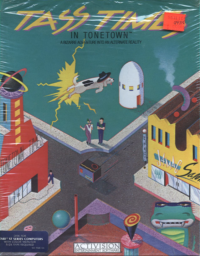 Tass Times in Tonetown Atari ST Front Cover
