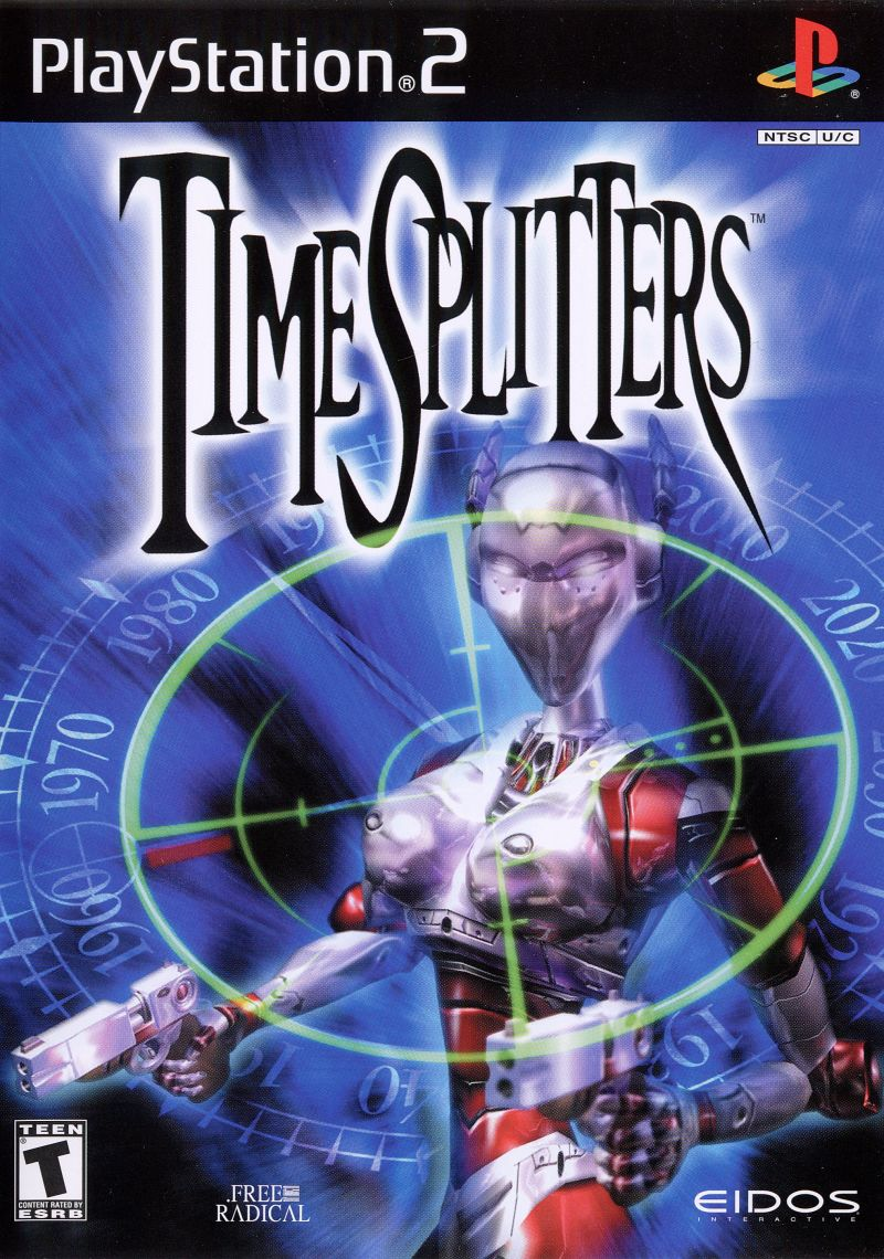 TimeSplitters PlayStation 2 Front Cover