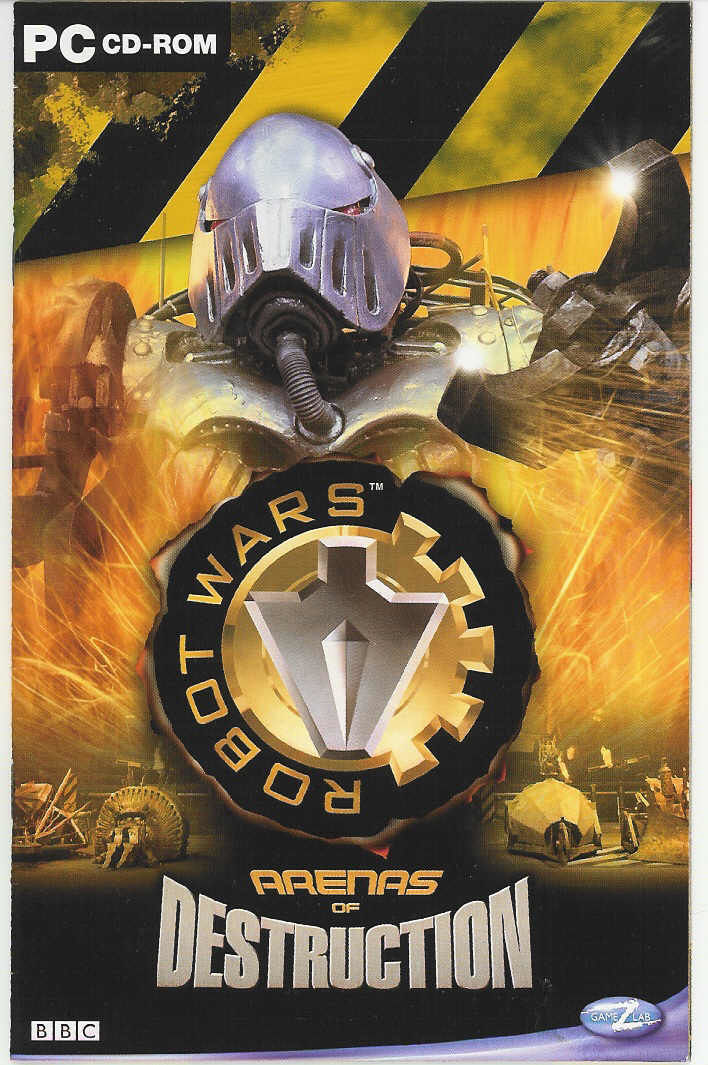 Robot Wars: Arenas of Destruction Windows Front Cover