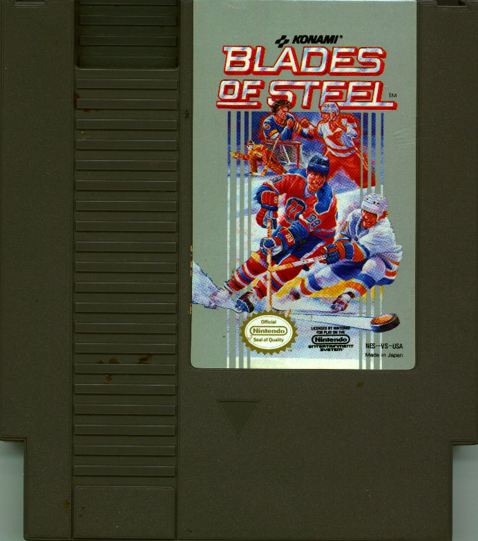 Blades of Steel NES Media