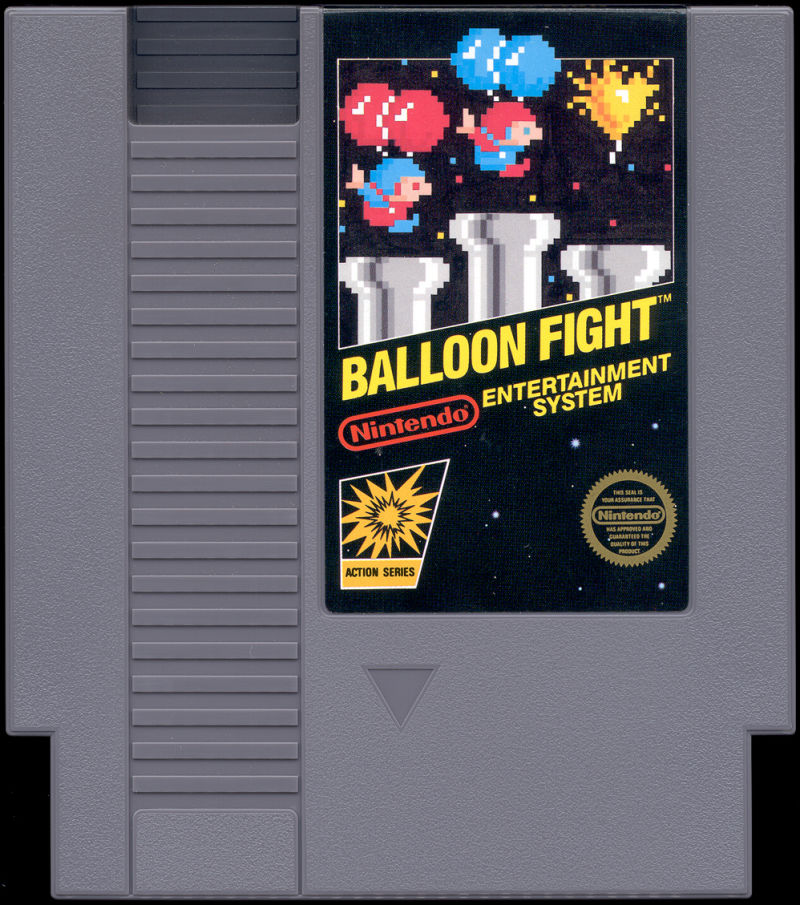 Balloon Fight NES Media
