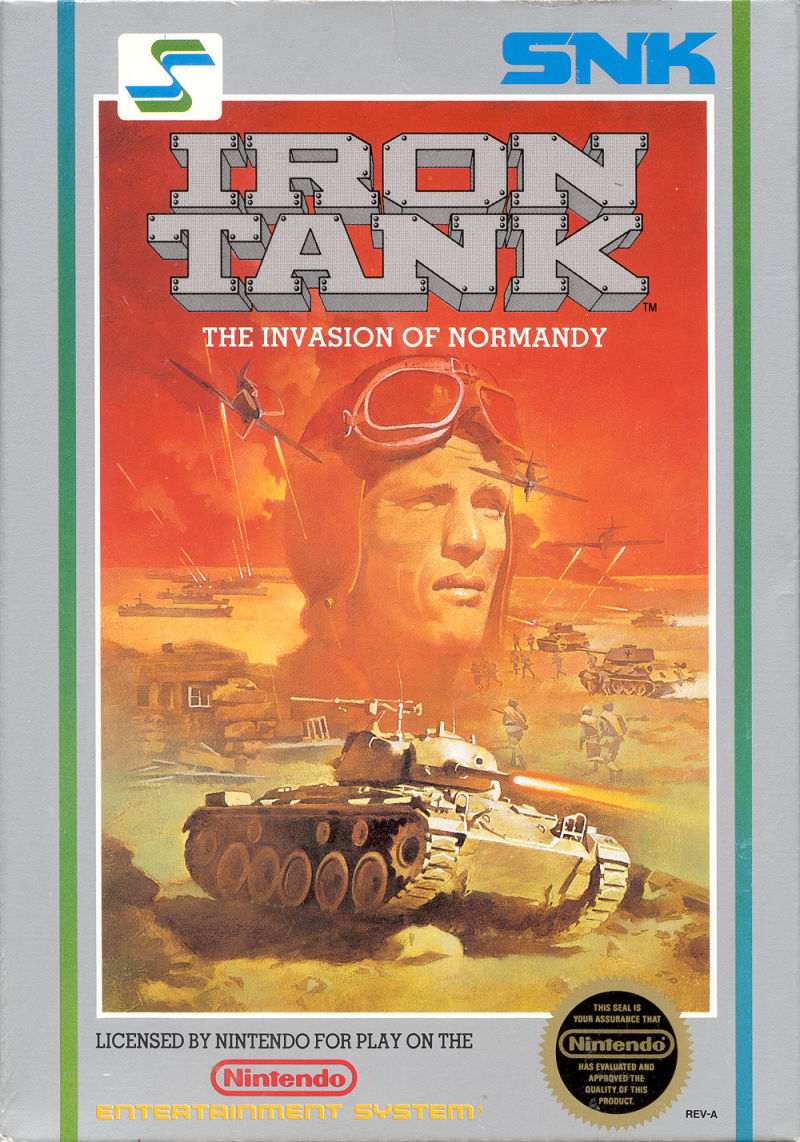 Iron Tank: The Invasion of Normandy NES Front Cover