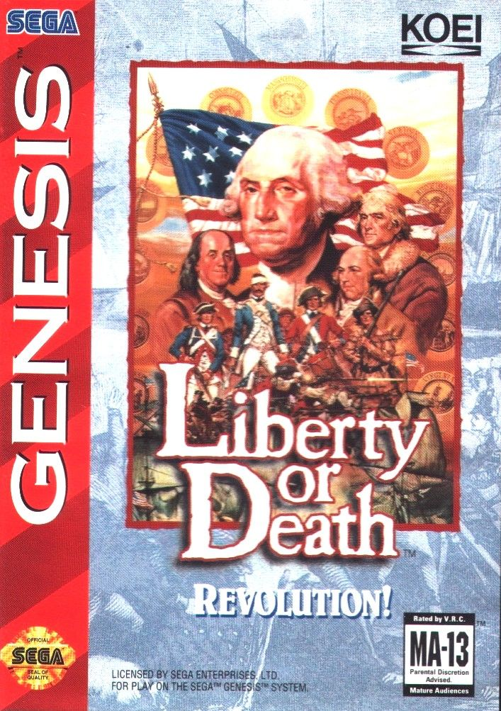 Liberty or Death Genesis Front Cover