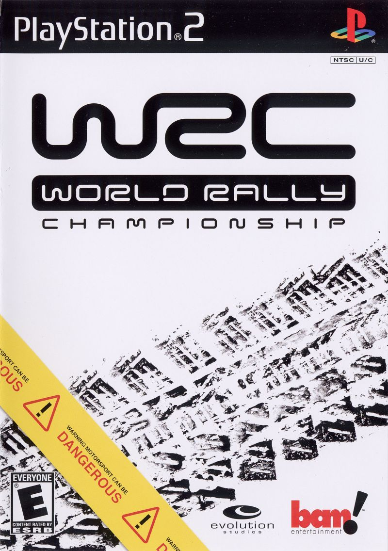 WRC World Rally Championship PlayStation 2 Front Cover