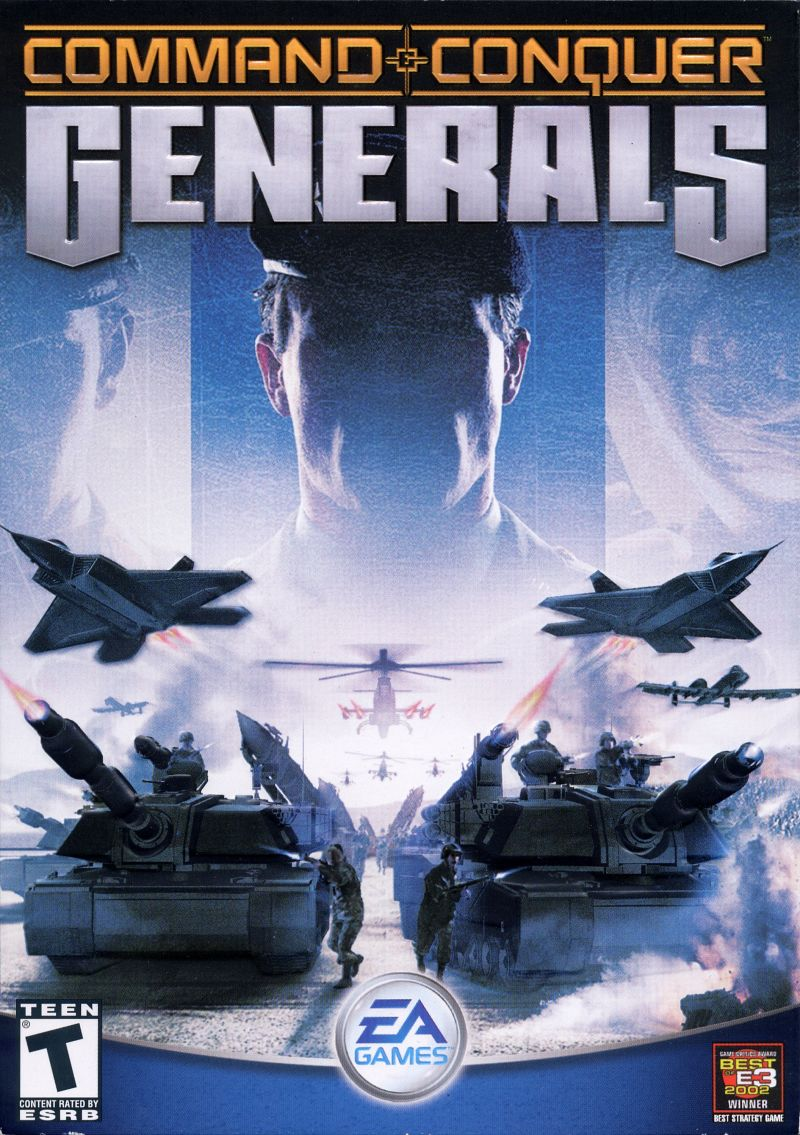 Command & Conquer: Generals Windows Front Cover