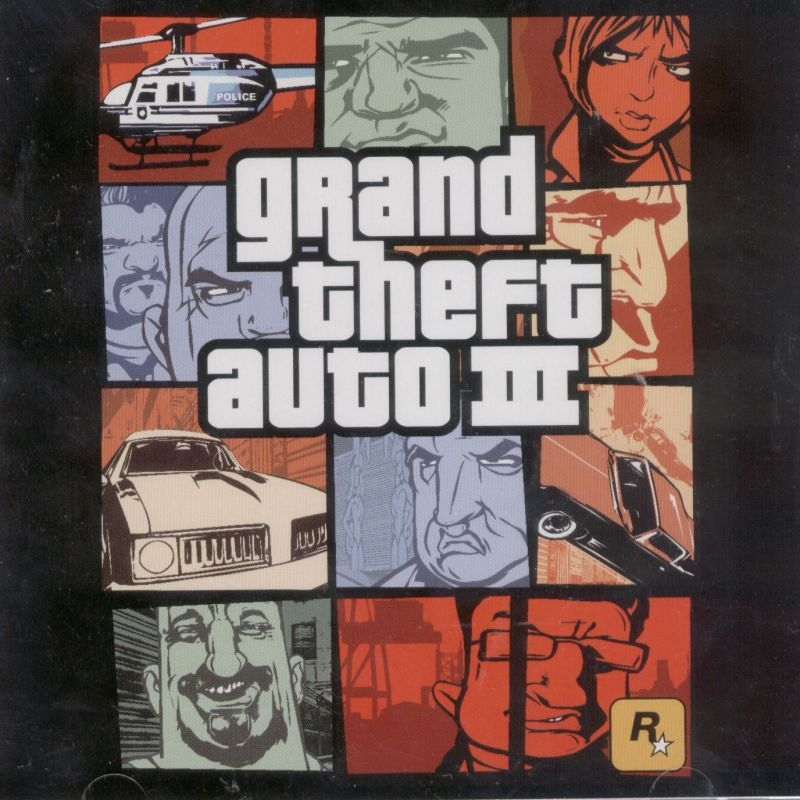 Grand Theft Auto III Windows Other Jewel Case - Front