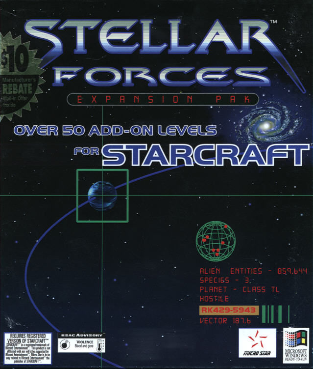 Stellar Forces Windows Front Cover