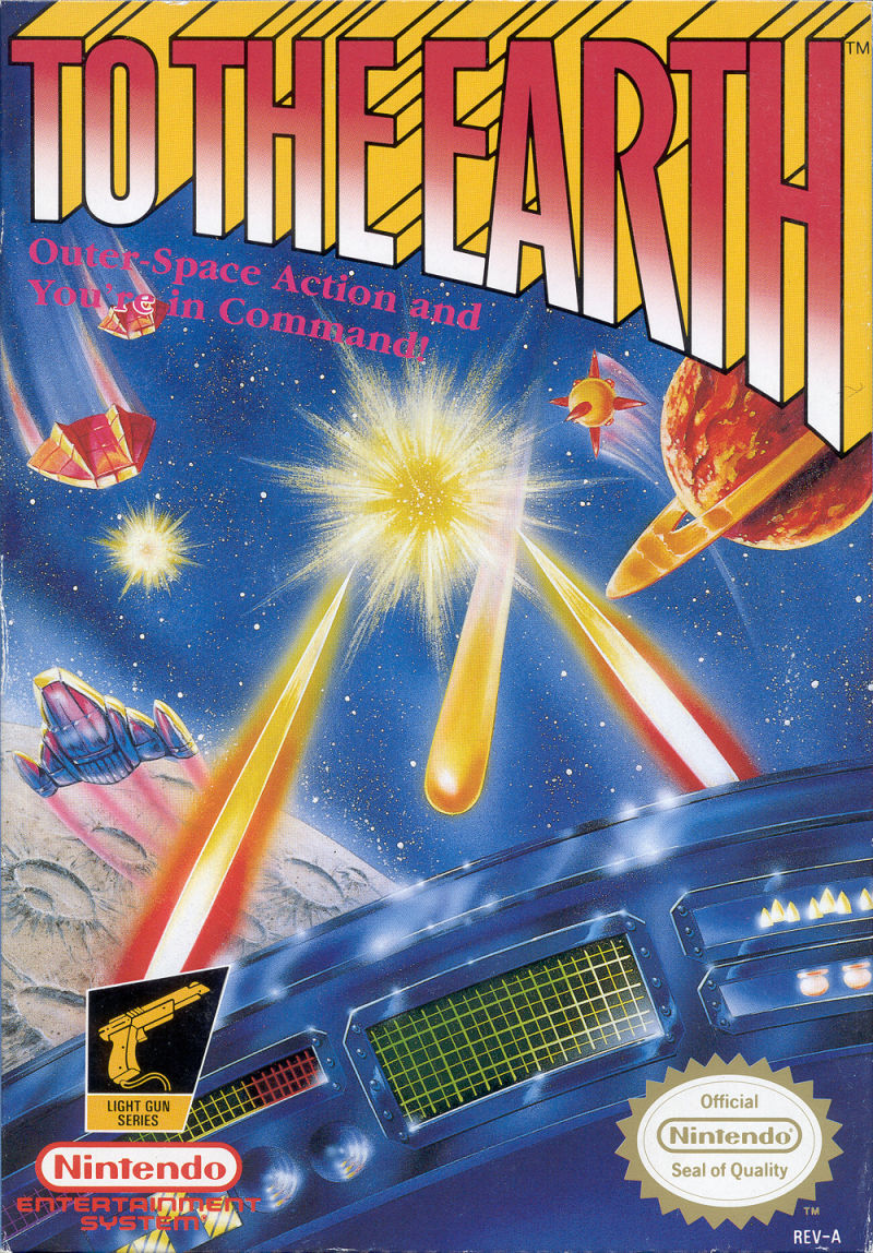 To the Earth NES Front Cover