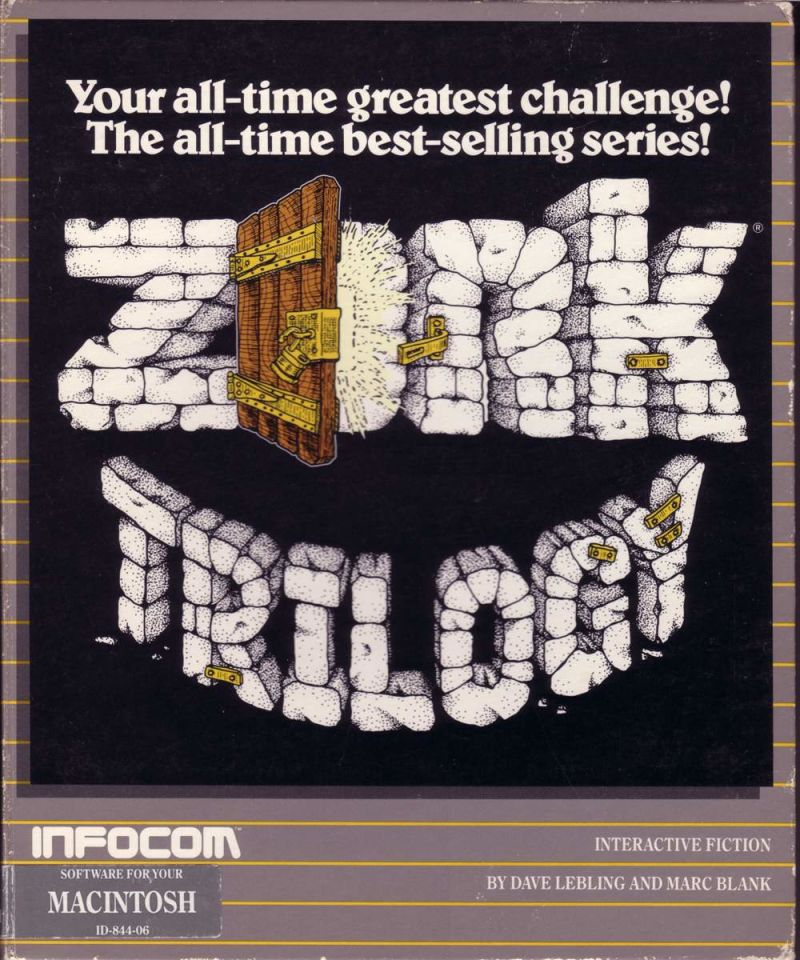 Zork Trilogy Macintosh Front Cover