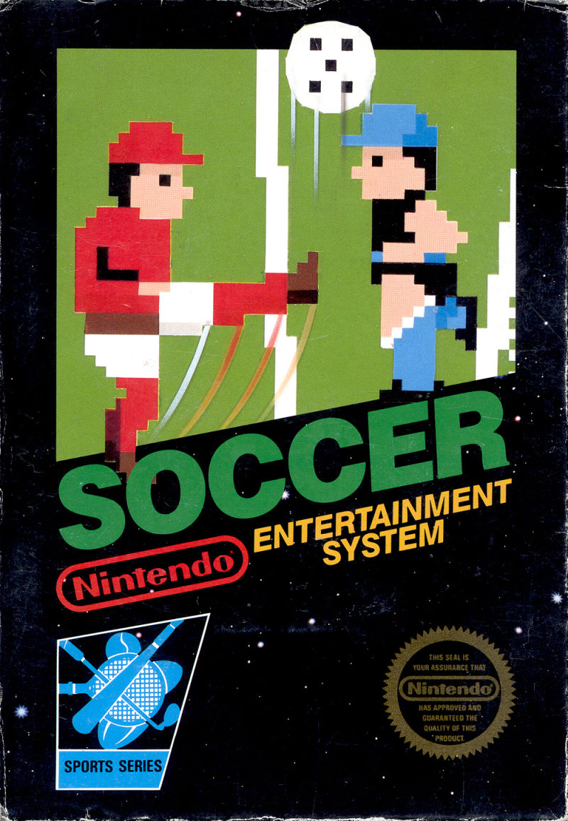 Soccer NES Front Cover