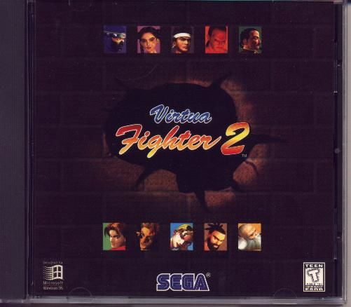 Virtua Fighter 2 Windows Other Jewel Case - Front