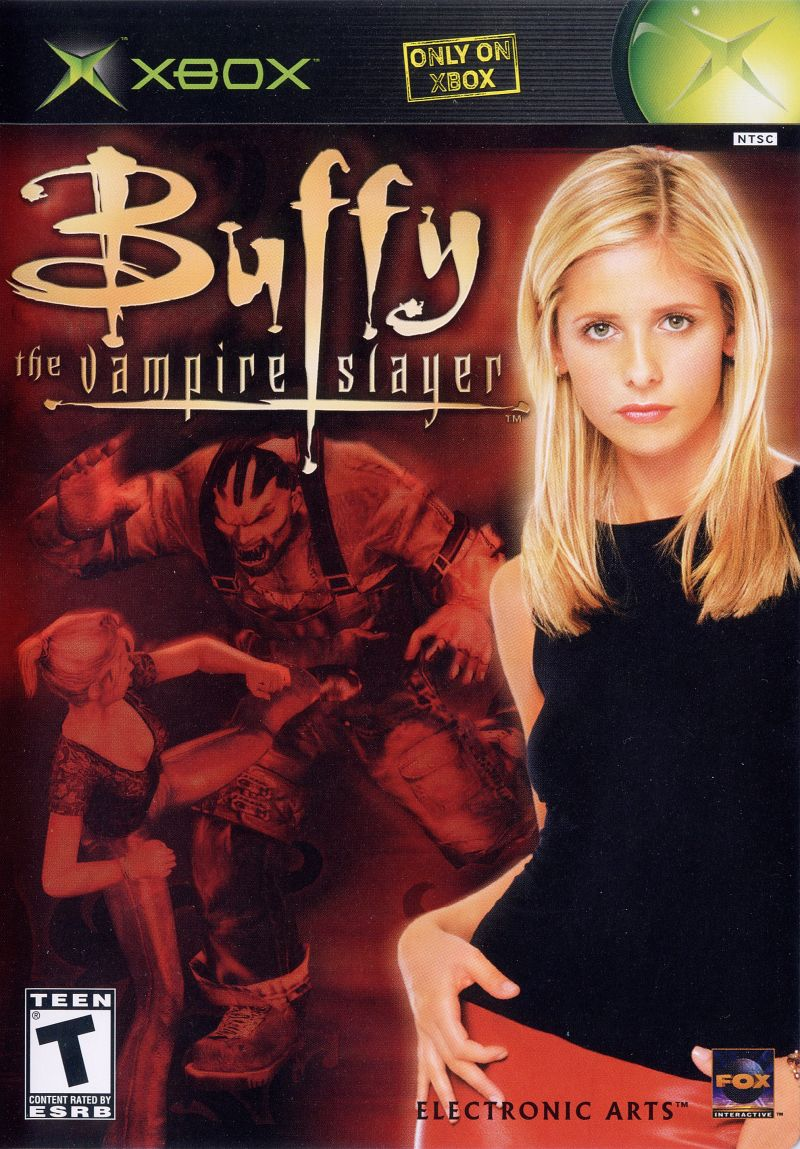 Buffy the Vampire Slayer Xbox Front Cover