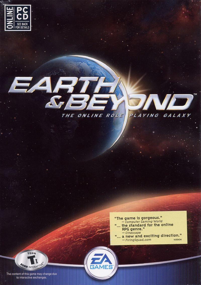 Earth & Beyond Windows Front Cover