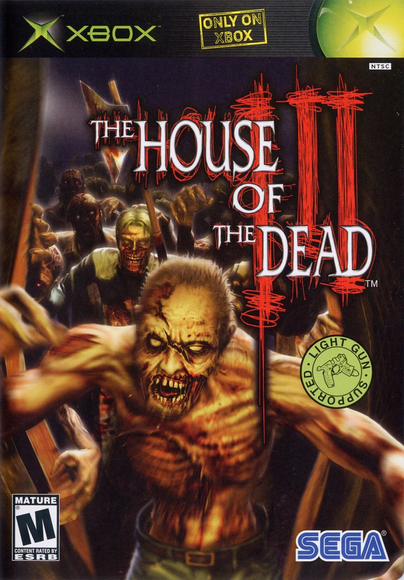 The House of the Dead III Xbox Front Cover