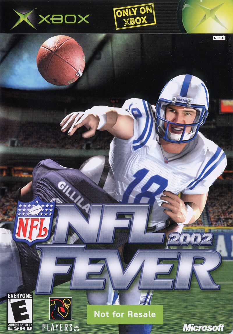 NFL Fever 2002 Xbox Front Cover