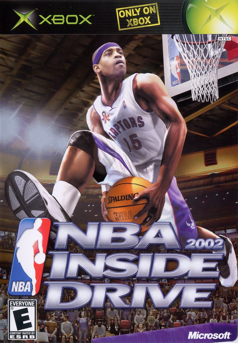 NBA Inside Drive 2002 Xbox Front Cover