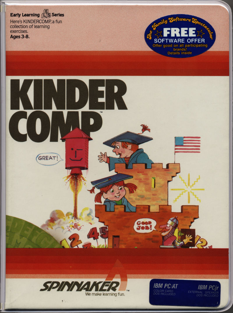 KinderComp PC Booter Front Cover