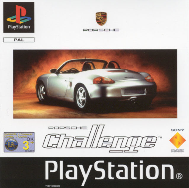 Porsche Challenge PlayStation Front Cover