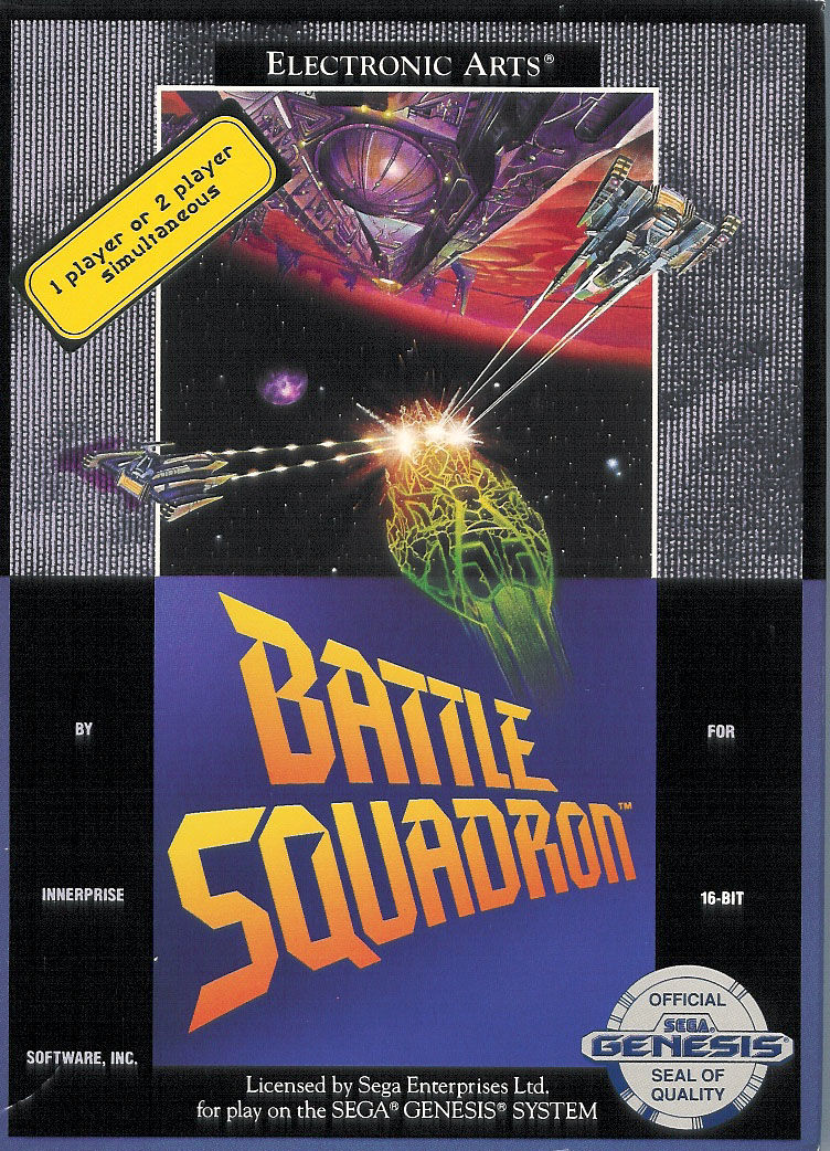 Battle Squadron Genesis Front Cover