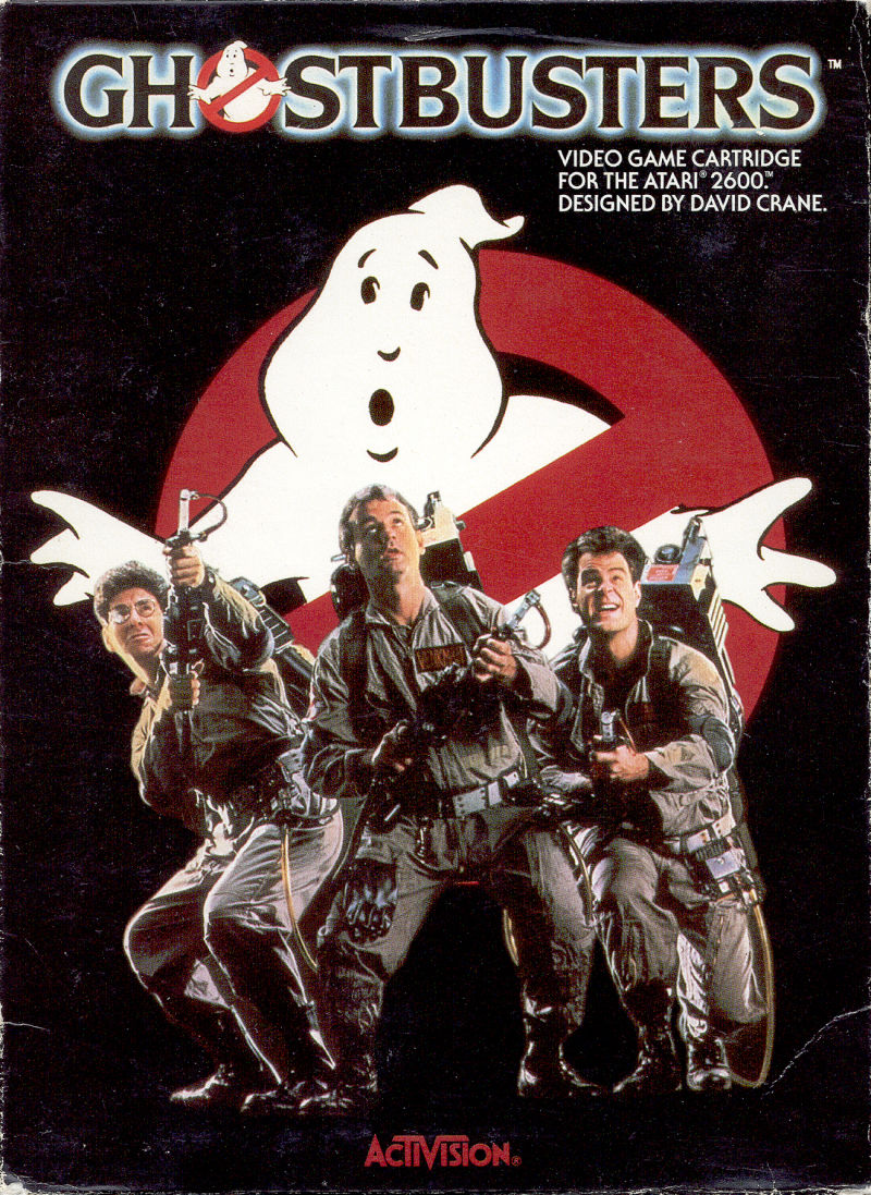 Ghostbusters Atari 2600 Front Cover