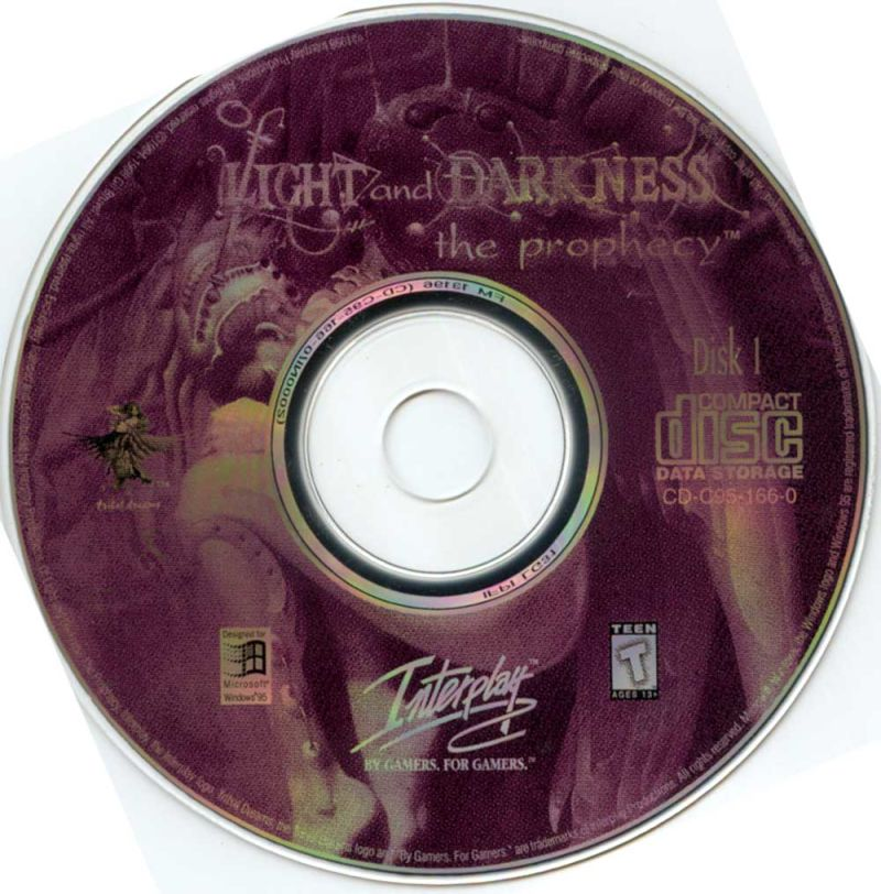 Of Light and Darkness: The Prophecy Windows Media Disc 1/3