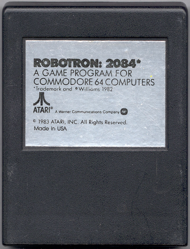 Robotron: 2084 Commodore 64 Media