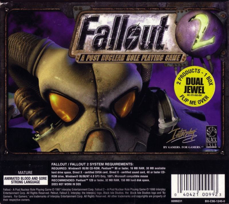 Fallout / Fallout 2 Windows Front Cover