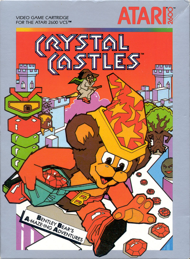 Crystal Castles Atari 2600 Front Cover