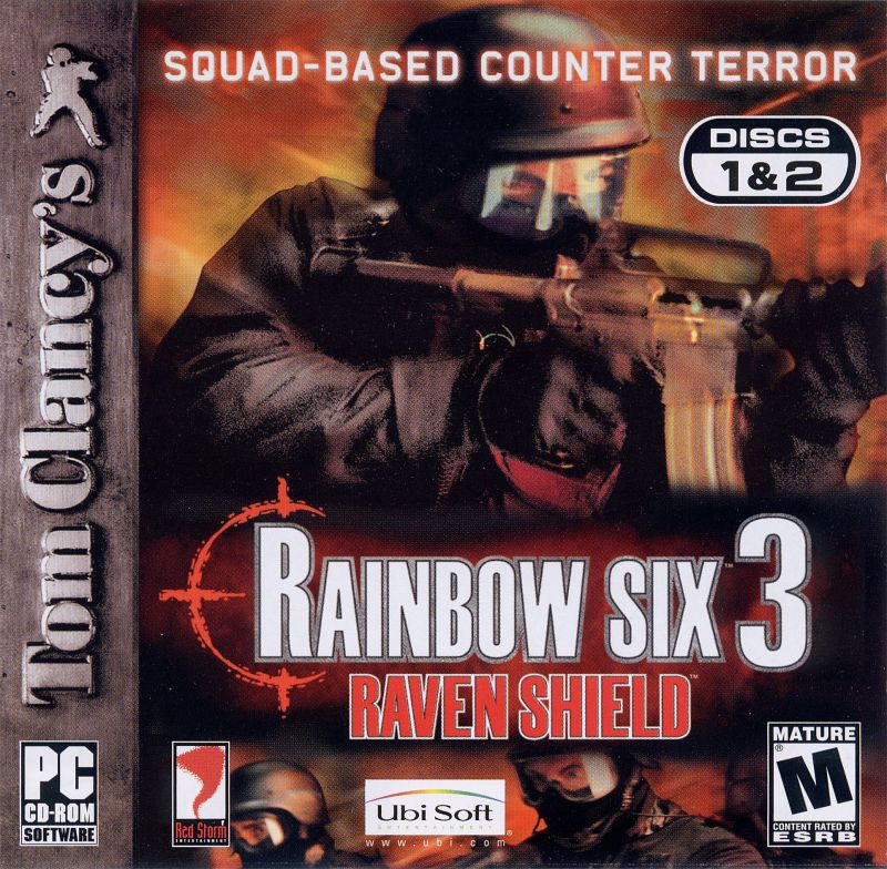 Tom Clancy's Rainbow Six 3: Raven Shield Windows Other Jewel Case - Front