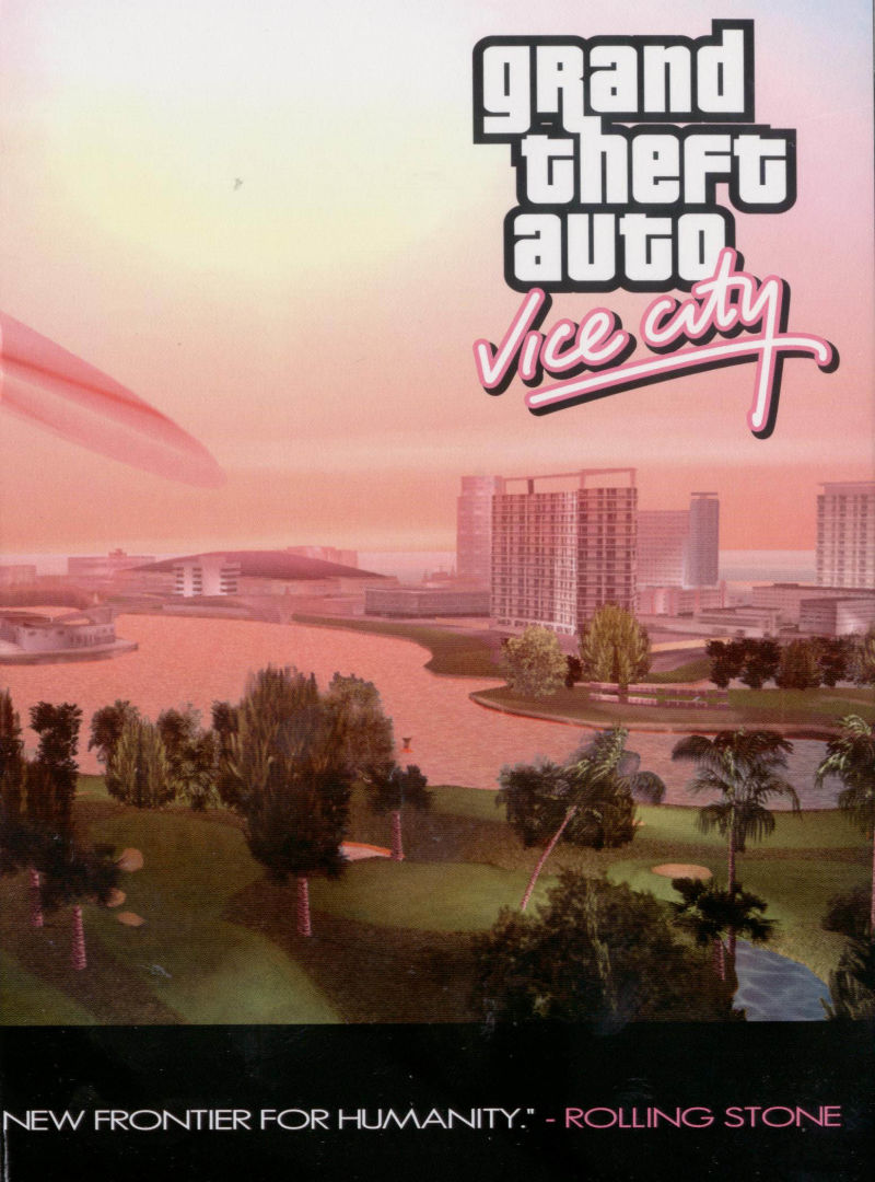 Grand Theft Auto: Vice City Windows Inside Cover Right Flap