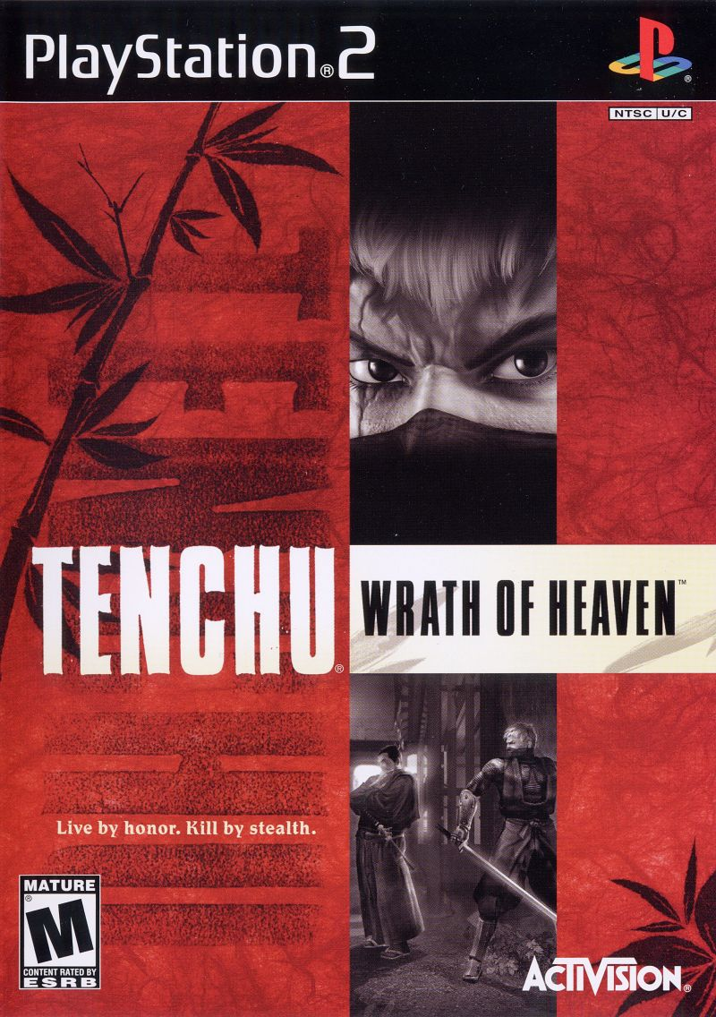 Tenchu: Wrath of Heaven PlayStation 2 Front Cover
