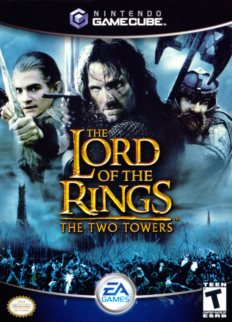 The Lord of the Rings: The Two Towers tampa frontal GameCube