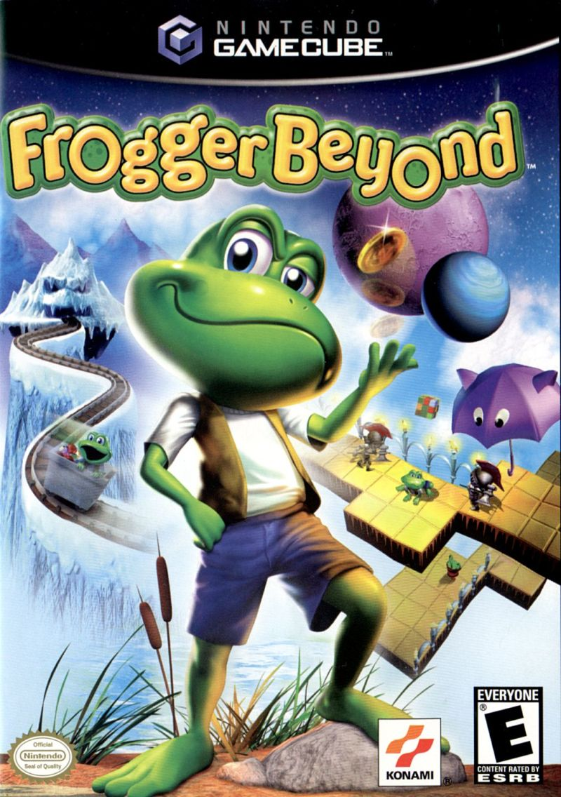 Frogger Beyond GameCube Front Cover