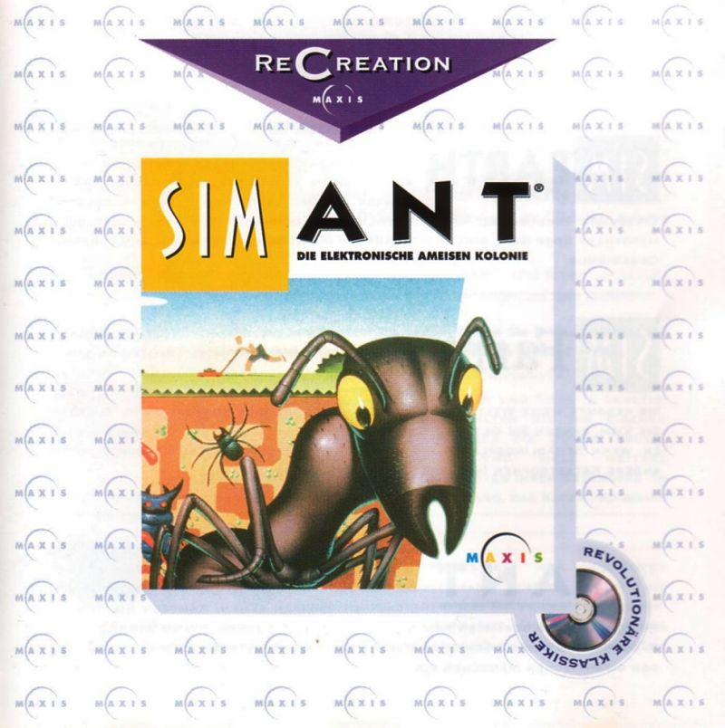 SimAnt: The Electronic Ant Colony Windows 3.x Other Jewel Case - Front