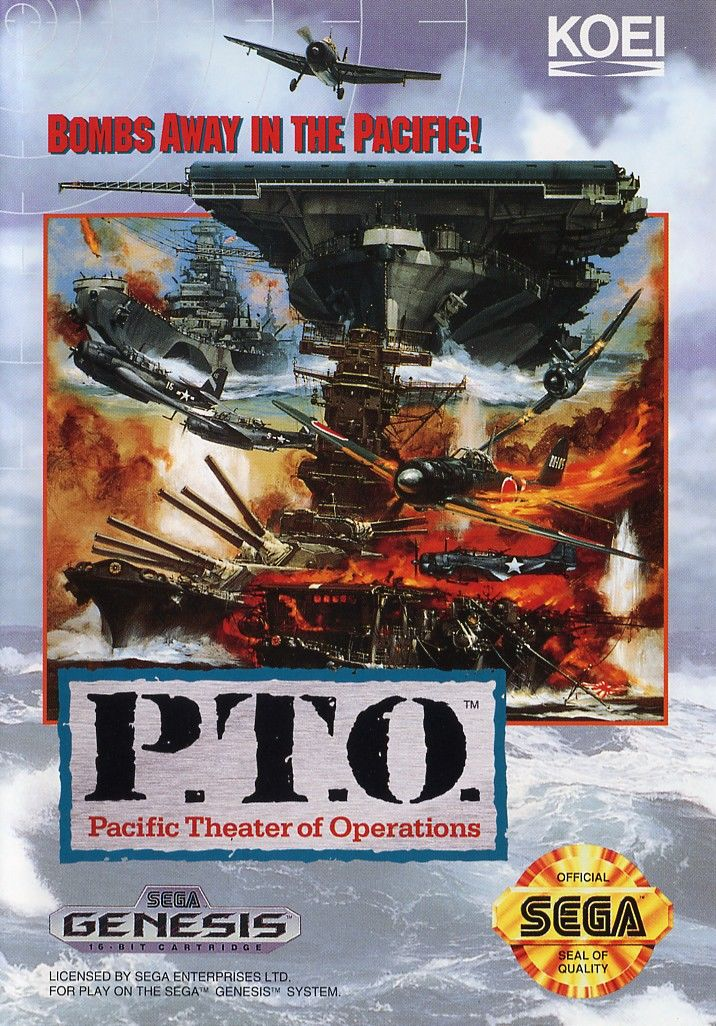 P.T.O.: Pacific Theater of Operations Genesis Front Cover
