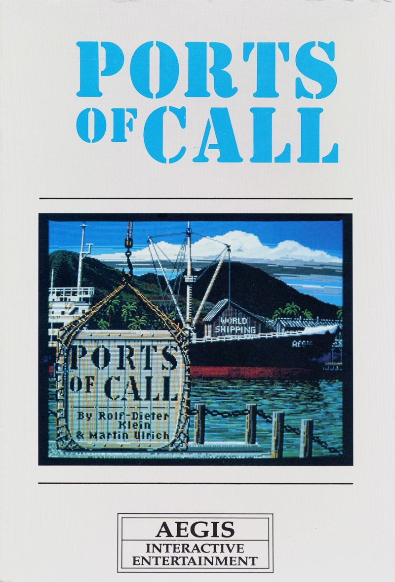 Ports of Call Amiga Front Cover